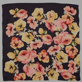 Echo Floral Bloom Silk Square EN0669