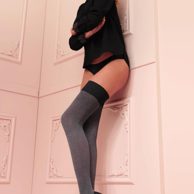Trasparenze Melani Thigh-High