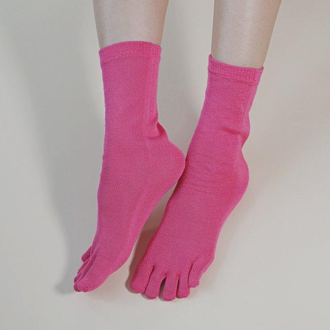 Tabbisocks Silk Toe Liner Socks