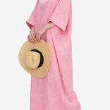 The Sleep Shirt Oversized Kaftan Linen