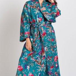 Sevya Handmade Long Kimono Robe