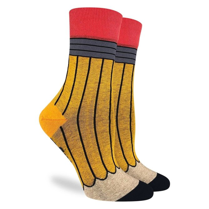 Good Luck Sock Yellow Crew