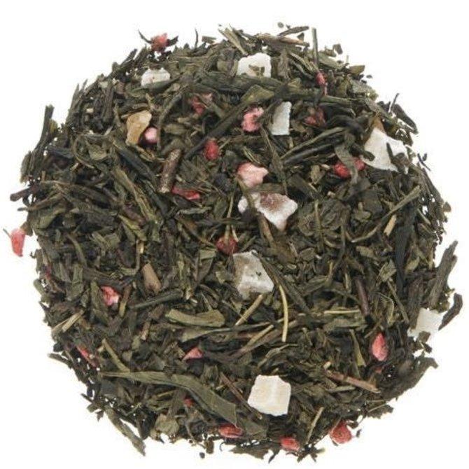 Metropolitan Tea Company Loose Leaf Green  Long Island Strawberry 75g