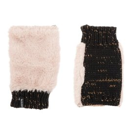 Isotoner 30026 Faux  Fur w. Knit Glove