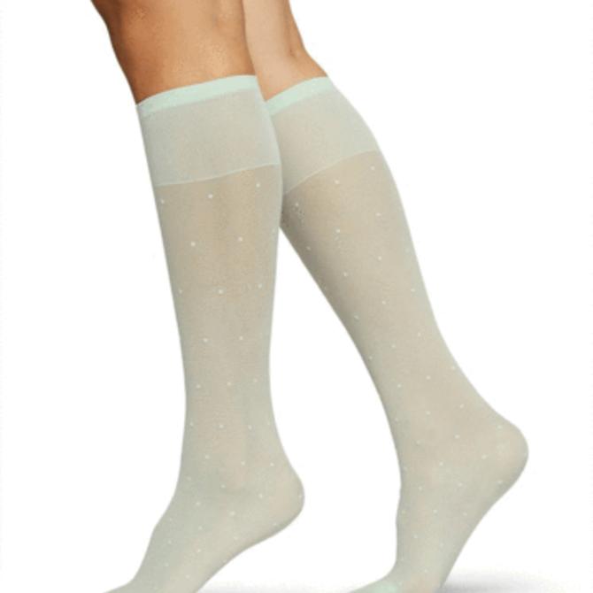 Swedish Stockings Doris Dots Knee High