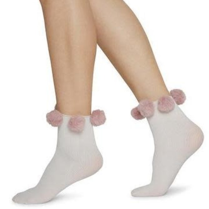 Swedish Stockings Ebba Pom-Pom Socks