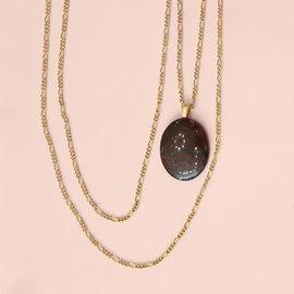 Ellice and Her Necklace Cecilia Necklace