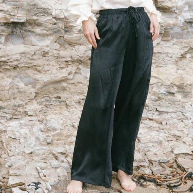 Jessica Redditt Design Silk Charmeuse Calico Pant