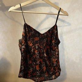 Jessica Redditt Design Silk Velvet Cami