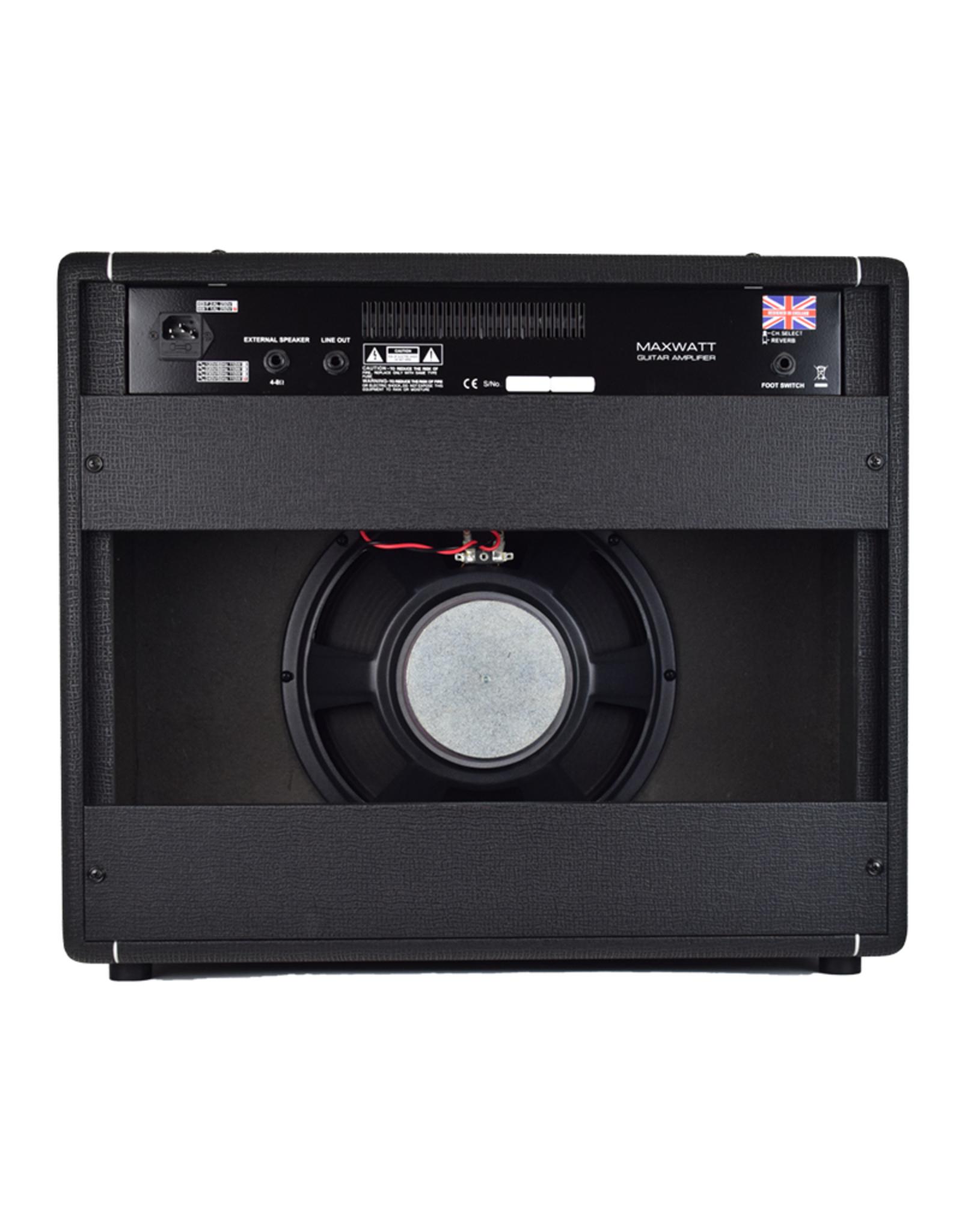 "HiWatt Crunch Amp 50W Combo with  1x12"" Octapulse Speaker & True-Spring Reverb"