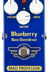 Mad Professor Blueberry Bass Overdrive Pedal