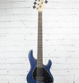 Sterling Sterling Sting ray 5 String Bass Blue Satin