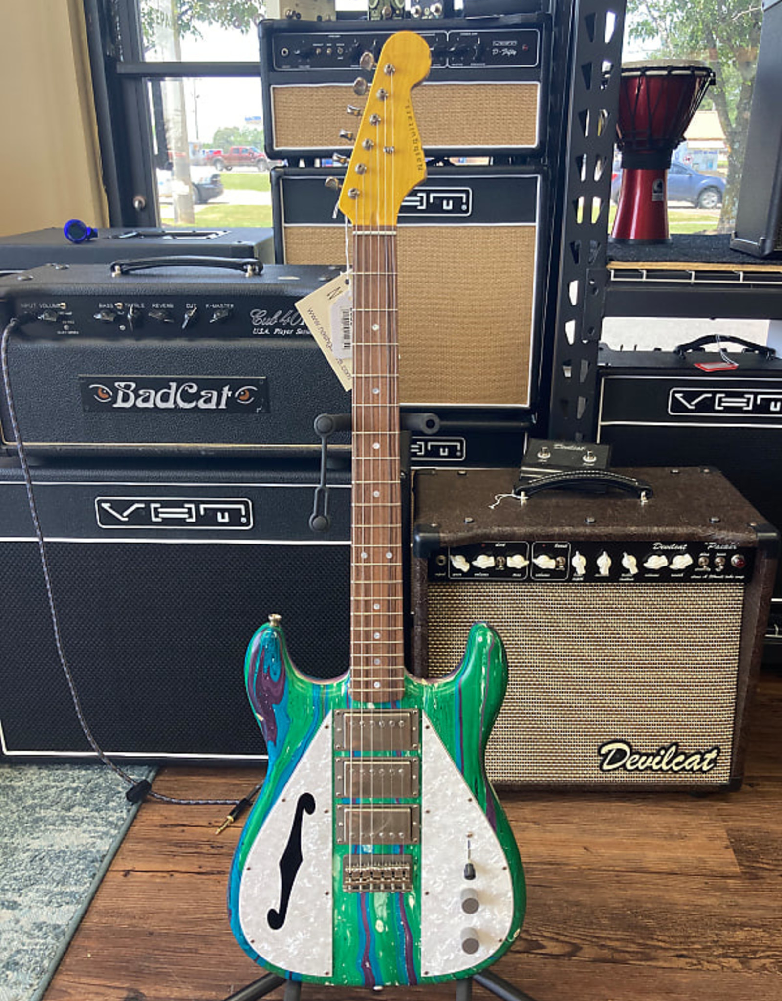 Nash Guitars Nash WF-3 Wayfarer Swirl
