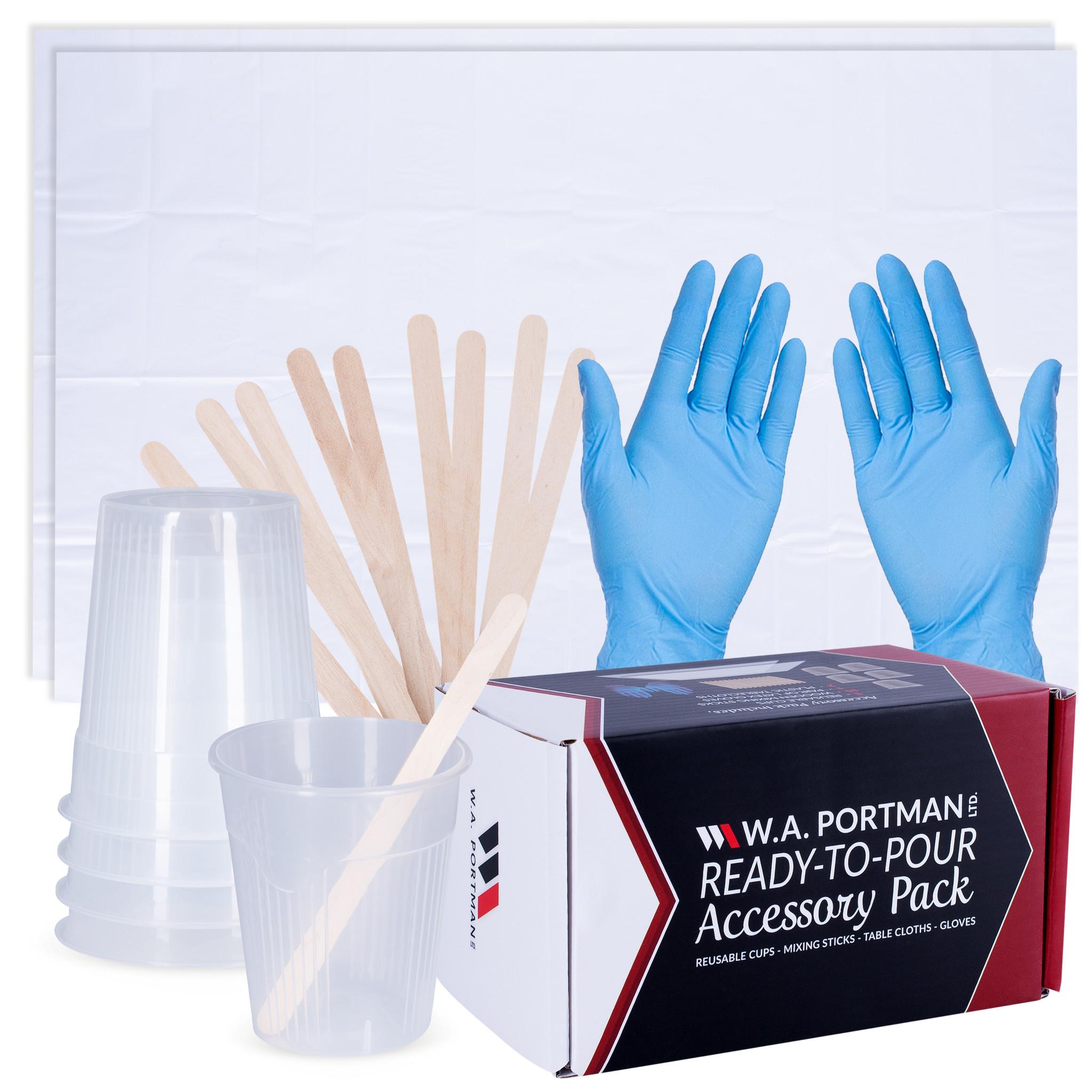W.A. Portman Paint Pouring Accessory Kit
