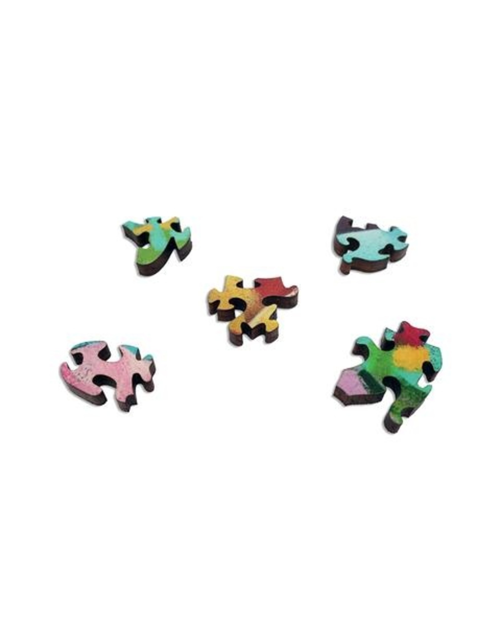 """Artifact Puzzles """"Boobie Trapped"""" Wooden Jigsaw Puzzle"""