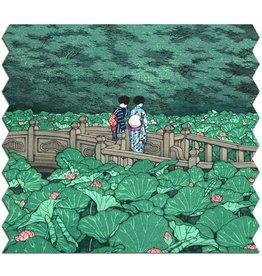 "Artifact Puzzles ""Shiba Benten Pond"" Wooden Jigsaw Puzzle"