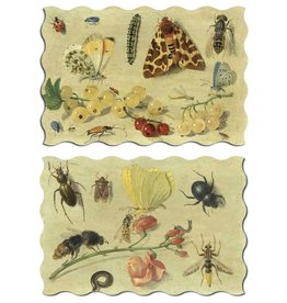 """Artifact Puzzles """"Kessel Bugs"""" Double-Sided Wooden Jigsaw Puzzle"""