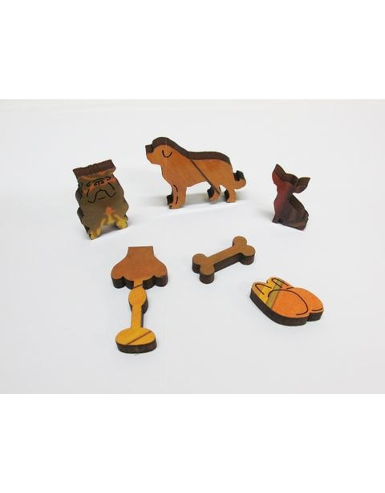 """Artifact Puzzles """"Creature Comforts"""" Wooden Jigsaw Puzzle"""