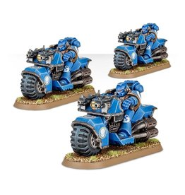 Games Workshop Space Marines: Bike Squad