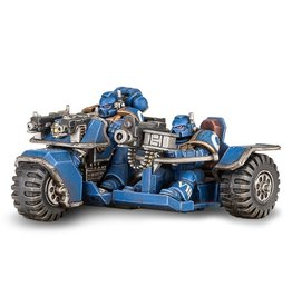 Games Workshop Space Marines: Attack Bike