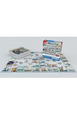 "Eurographics ""Sailing Ships Vintage Stamps"" 500 Piece Puzzle"