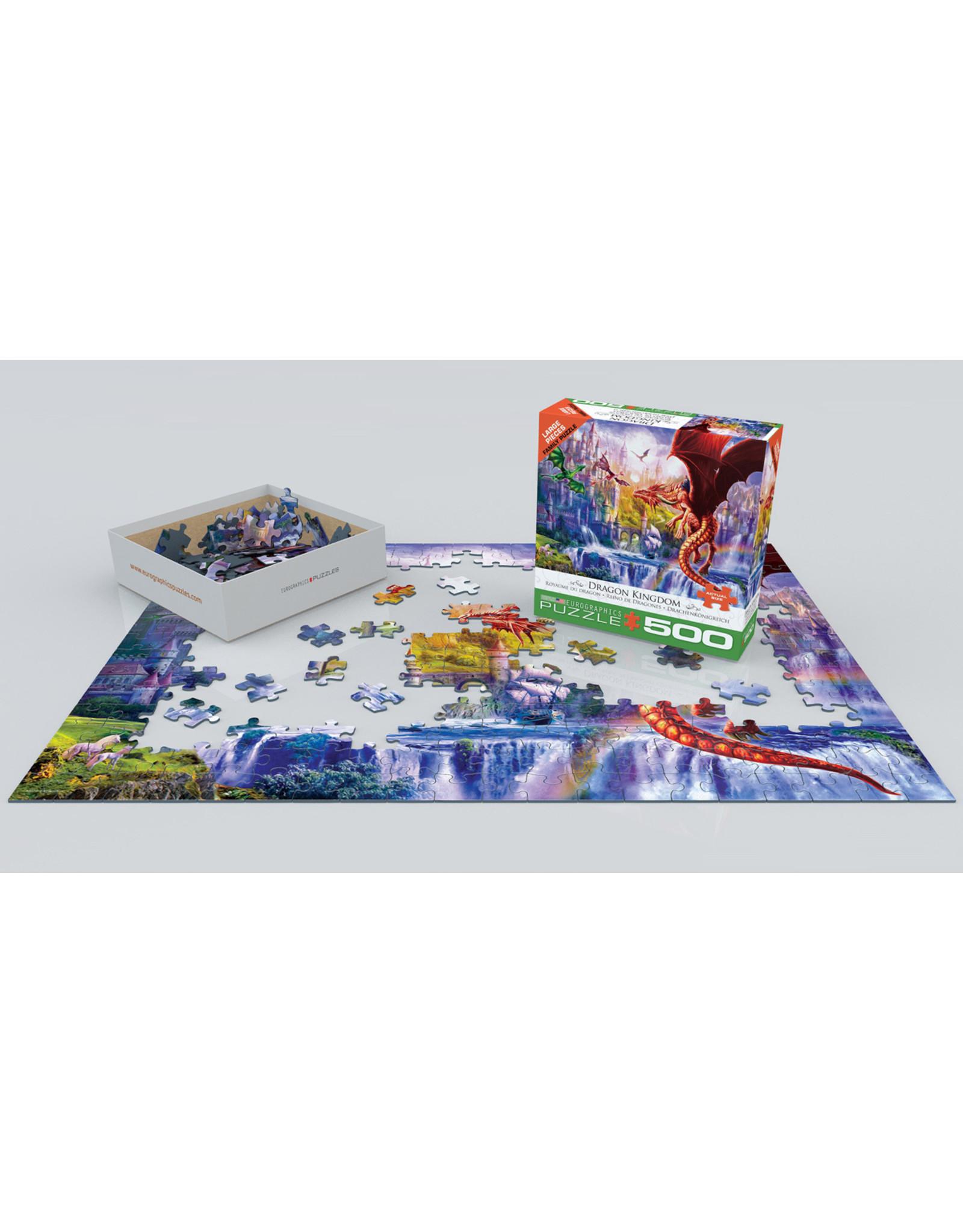 "Eurographics ""Dragon Kingdom"" 500 Piece Puzzle"