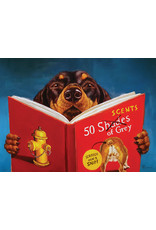 """Eurographics """"50 Scents of Grey"""" 500 Piece Puzzle"""