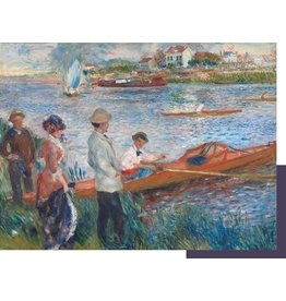 "Pomegranate ""Oarsmen at Chatou"" 500 Piece Puzzle"