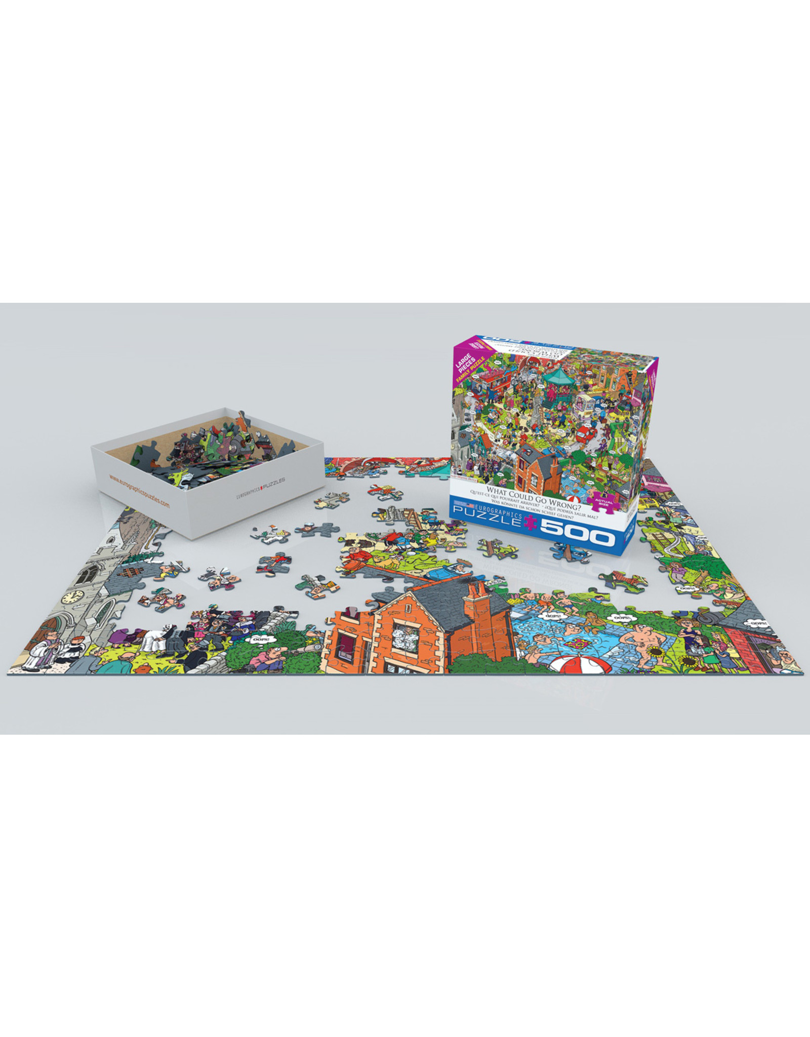 """Eurographics """"What Could Go Wrong?"""" 500 Piece Puzzle"""