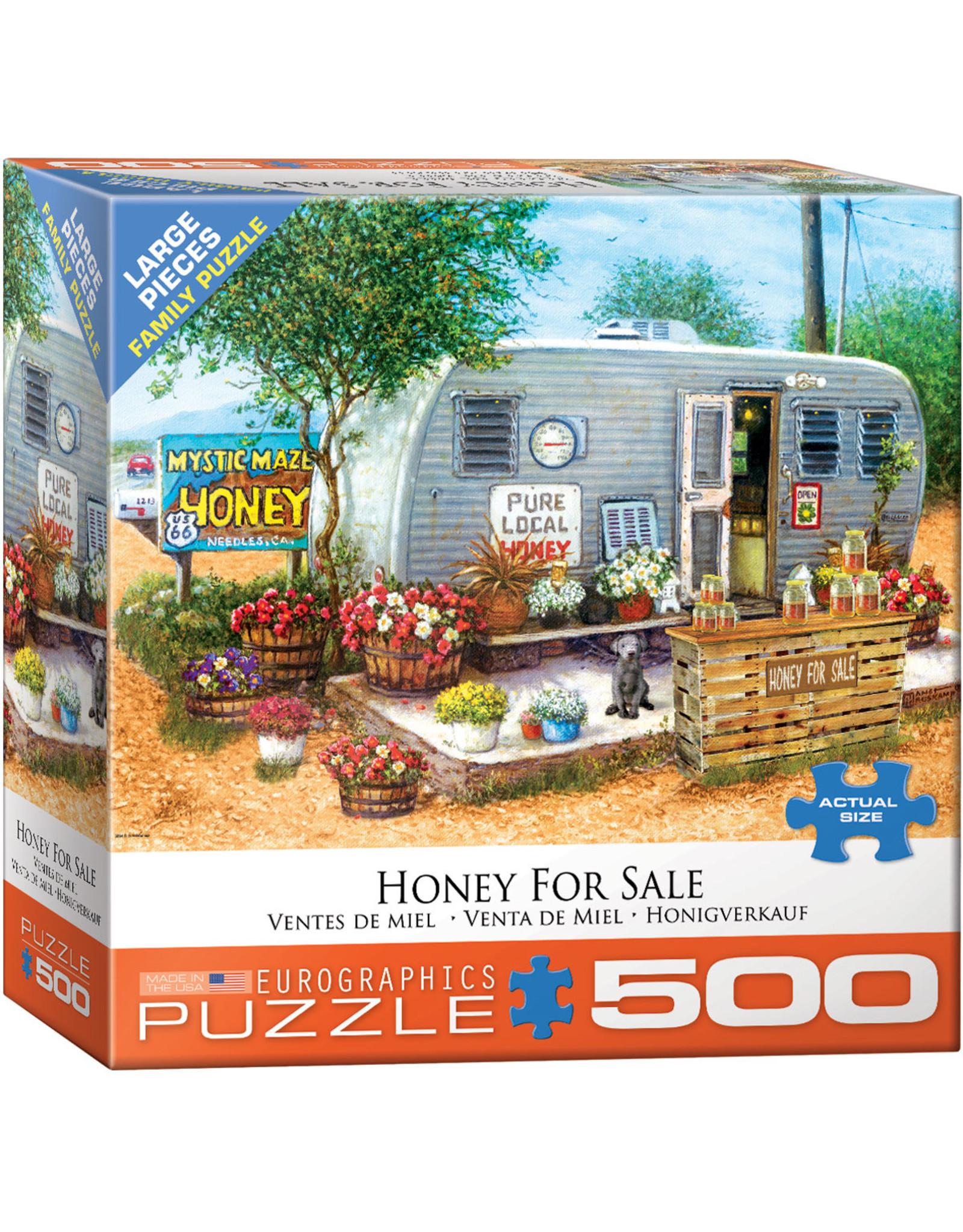 "Eurographics ""Honey For Sale"" 500 Piece Puzzle"