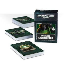 Games Workshop Salamanders: 8th Ed Datacards