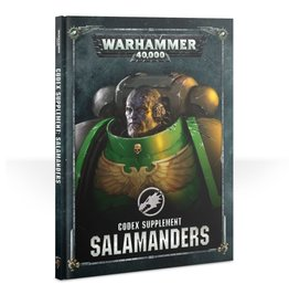 Games Workshop Salamanders: 8th Ed Codex
