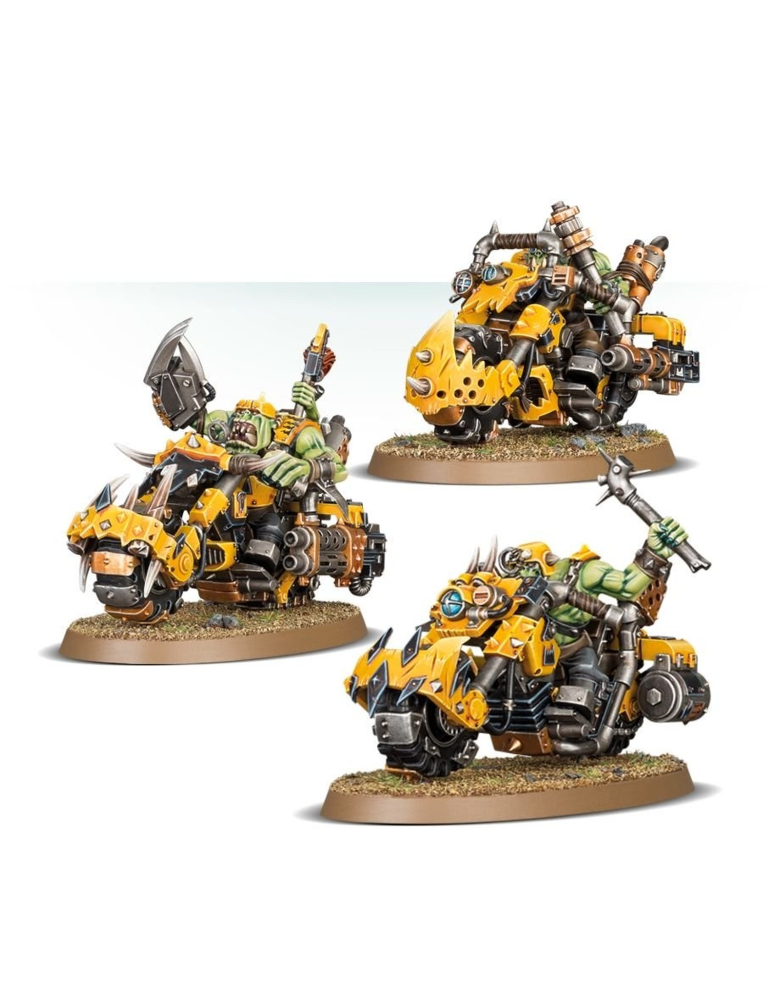 Games Workshop Ork: Warbiker Mob