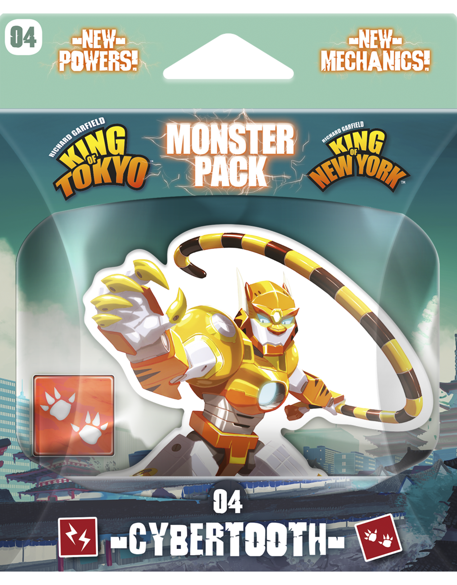 Iello King of Tokyo: Monster Packs