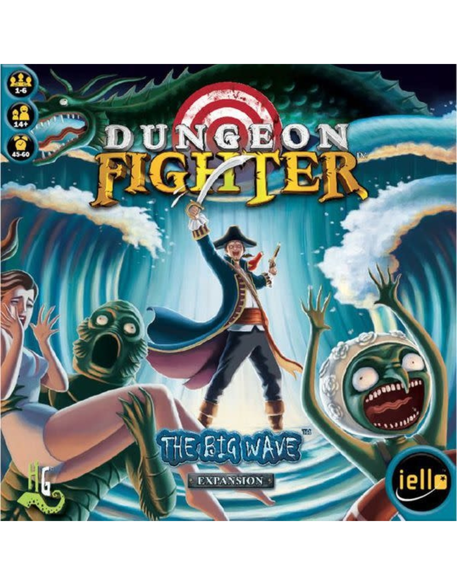 Cranio Creations Dungeon Fighter: The Big Wave Expansion
