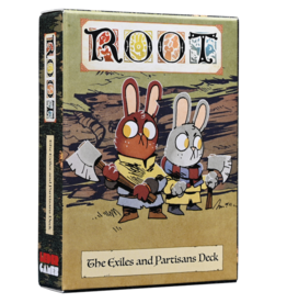 Leder Games Root: The Exiles and Partisans Deck