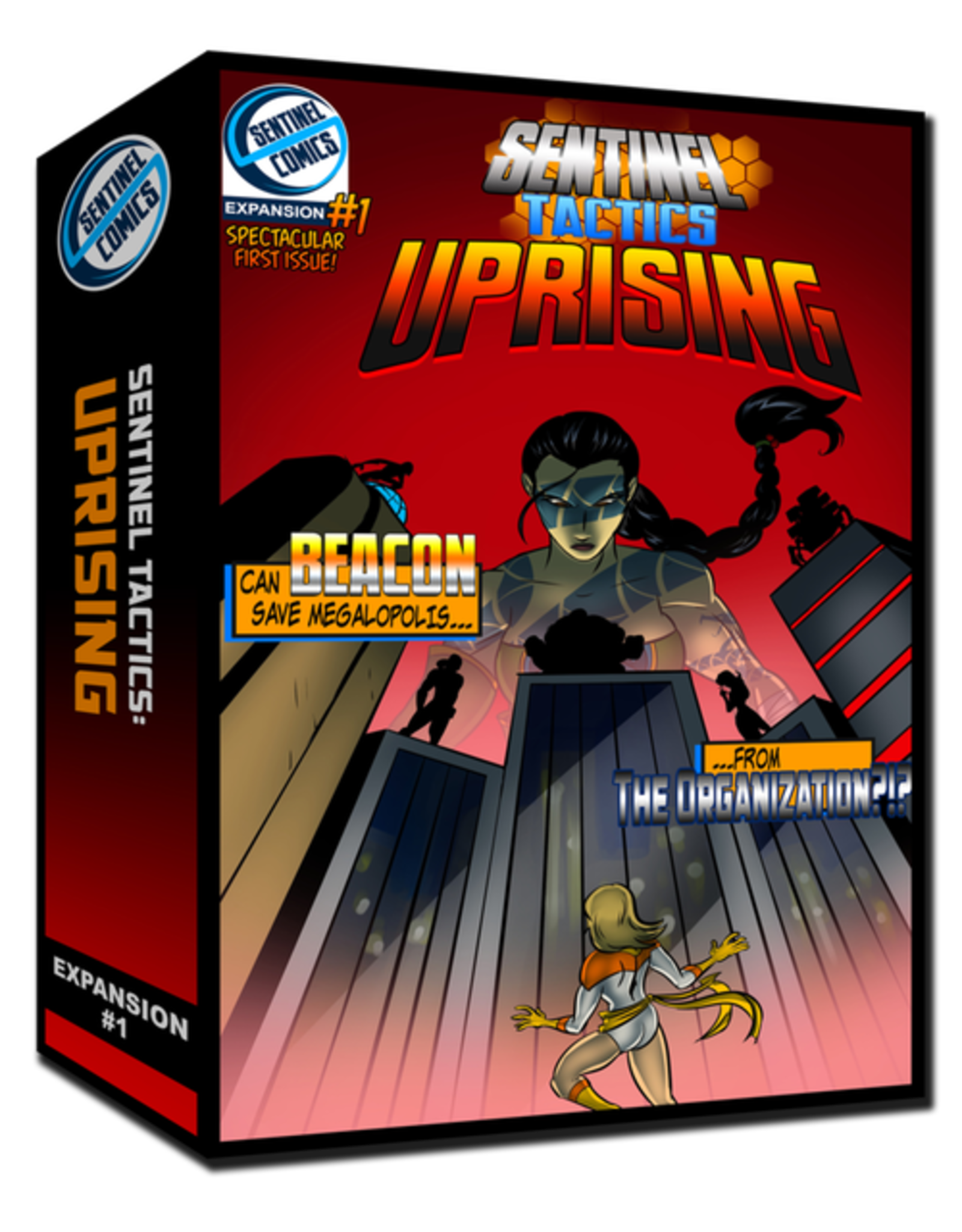 Greater Than Games Sentinel Tactics: Uprising Expansion