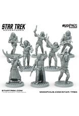 Modiphius Star Trek Adventures: Klingon Warband Minis Box Set