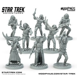 Modiphius Star Trek Adventures: Klingon Warband Minis Box Set