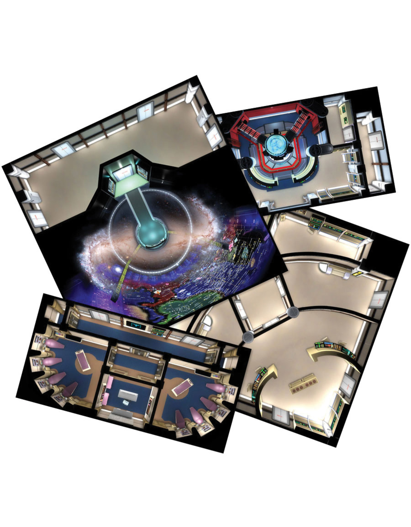Modiphius Star Trek Adventures: Next Generation Starfleet Deck Tiles