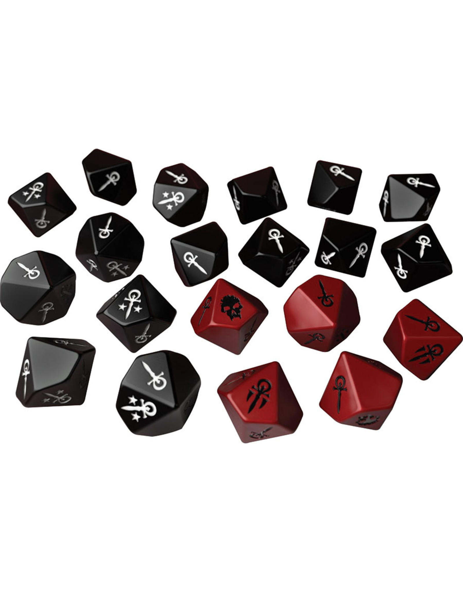 Modiphius Vampire the Masquerade 5E: Dice Set