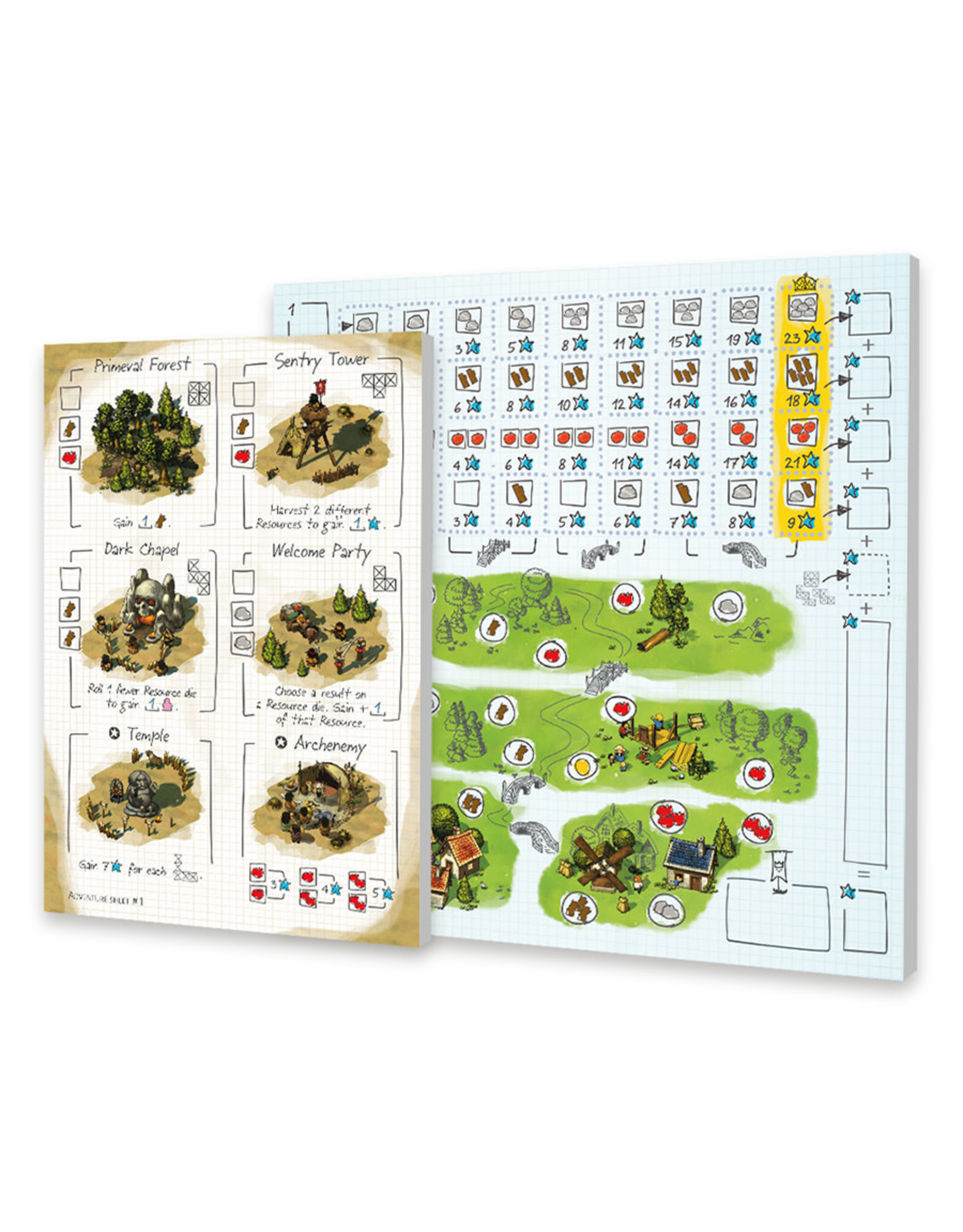Portal Games Imperial Settlers: Roll & Write