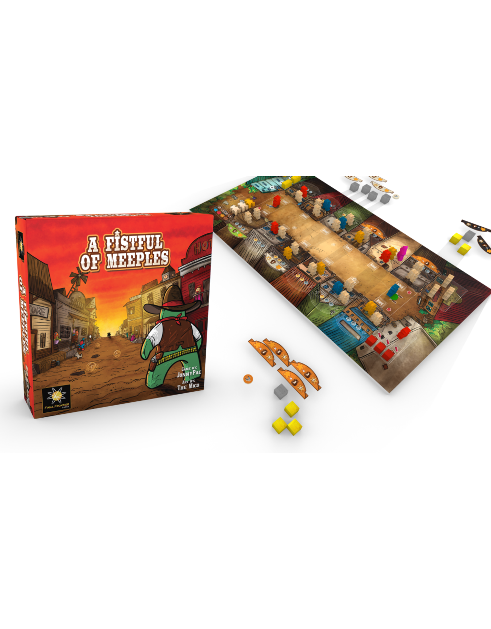 Final Frontier Games A Fistful of Meeples