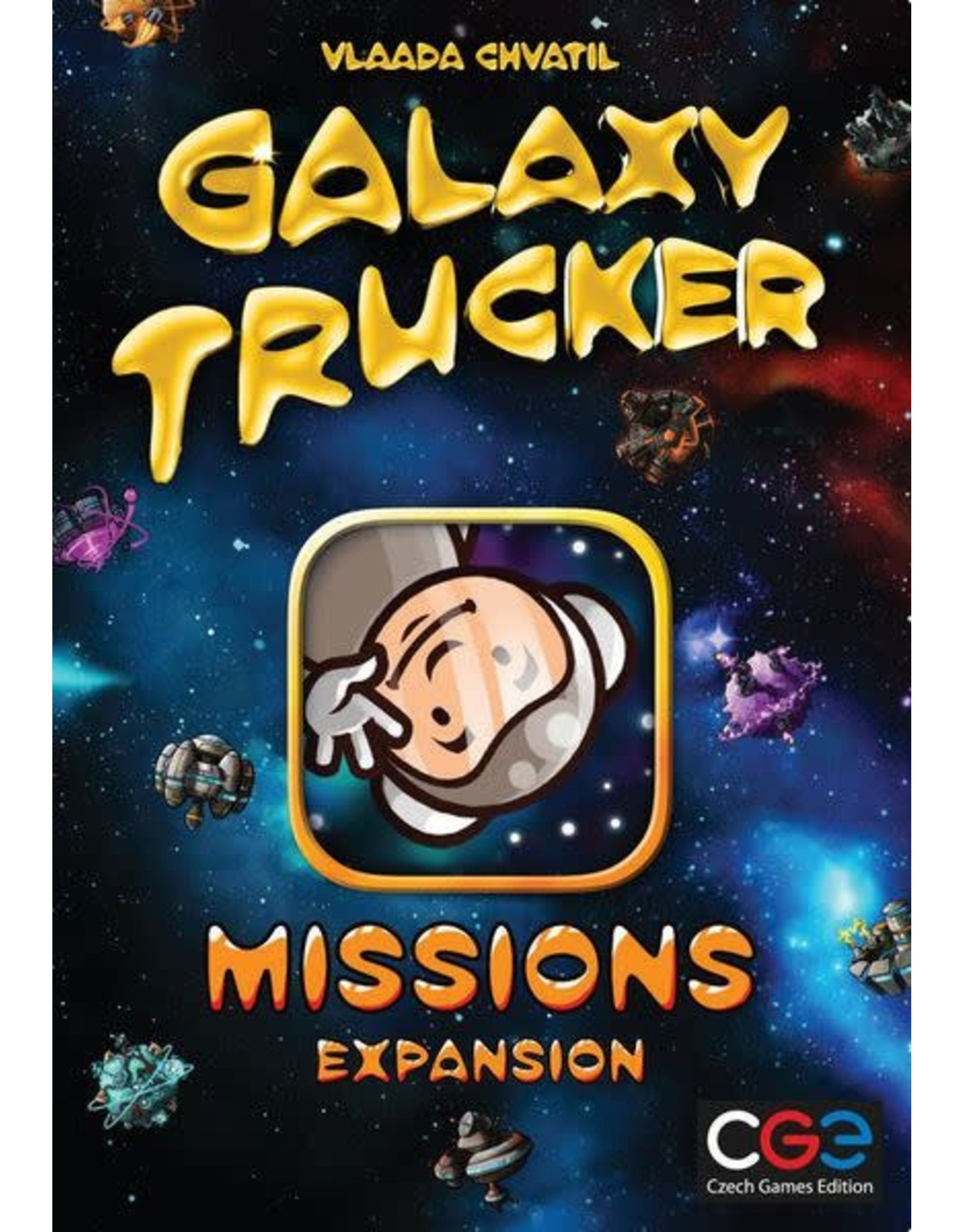 Czech Games Edition Galaxy Trucker: Missions Expansion