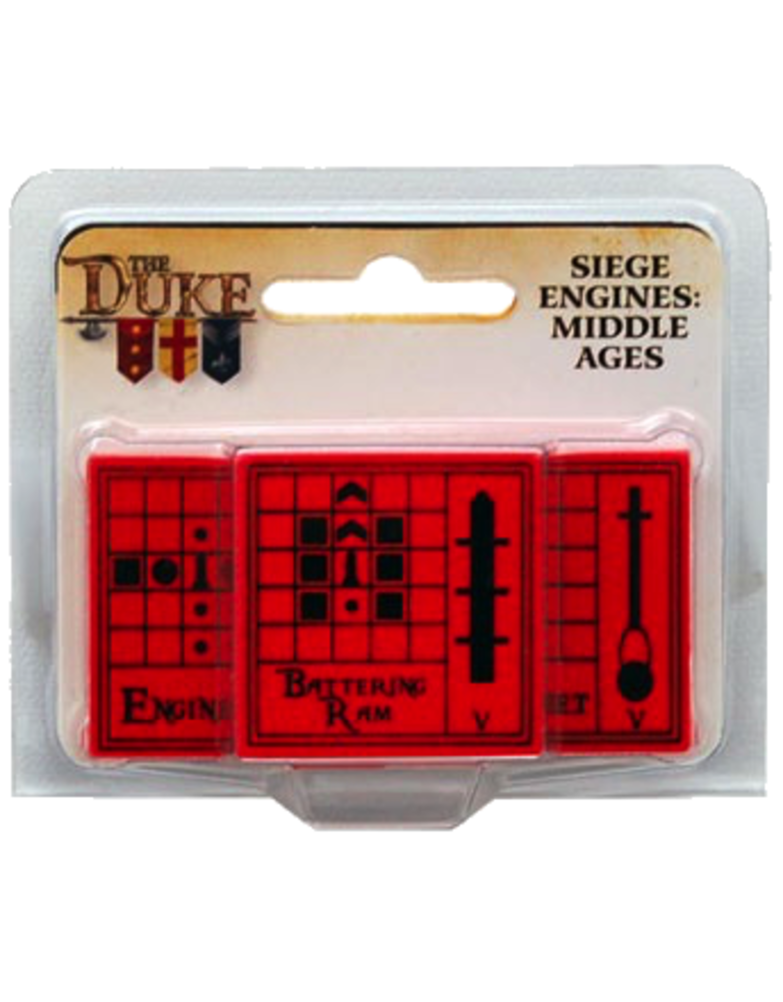 Catalyst Game Labs The Duke: Siege Engines - Middle Ages Expansion