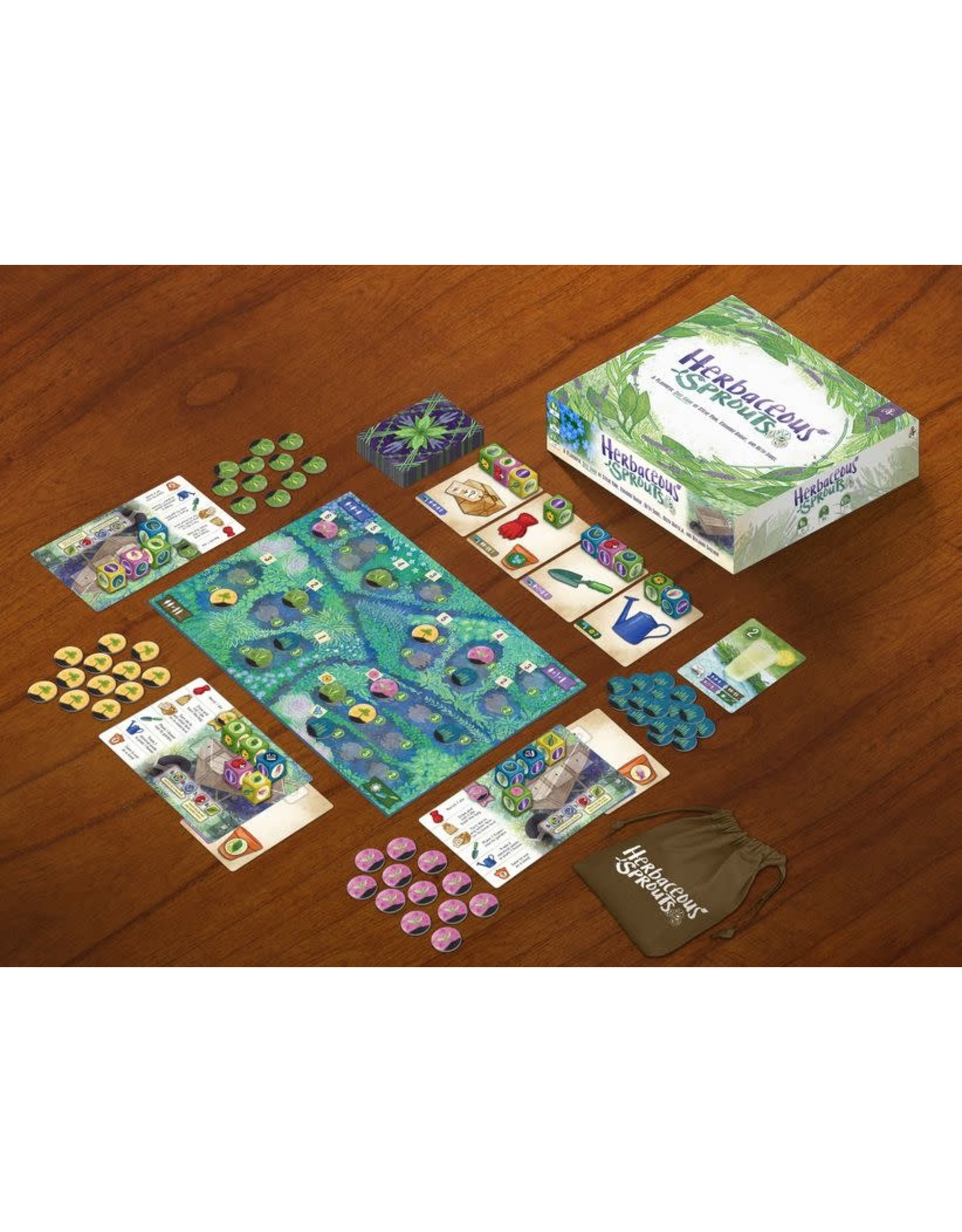 Pencil First Games Herbaceous Sprouts