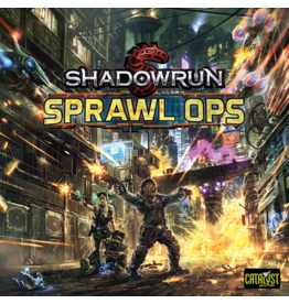 Catalyst Game Labs Sale Shadowrun: Sprawl Ops Board Game