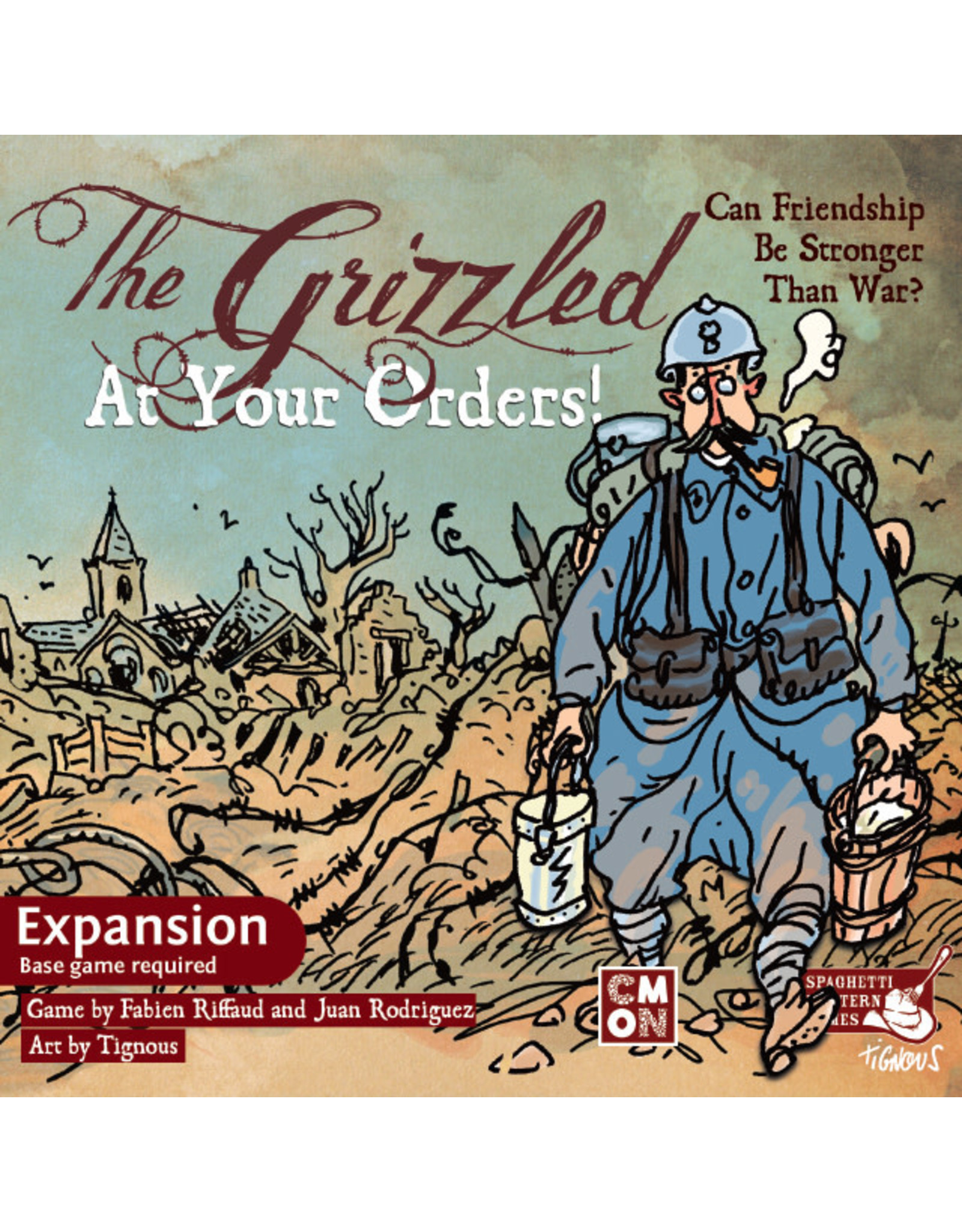 CMON The Grizzled: At Your Orders Expansion