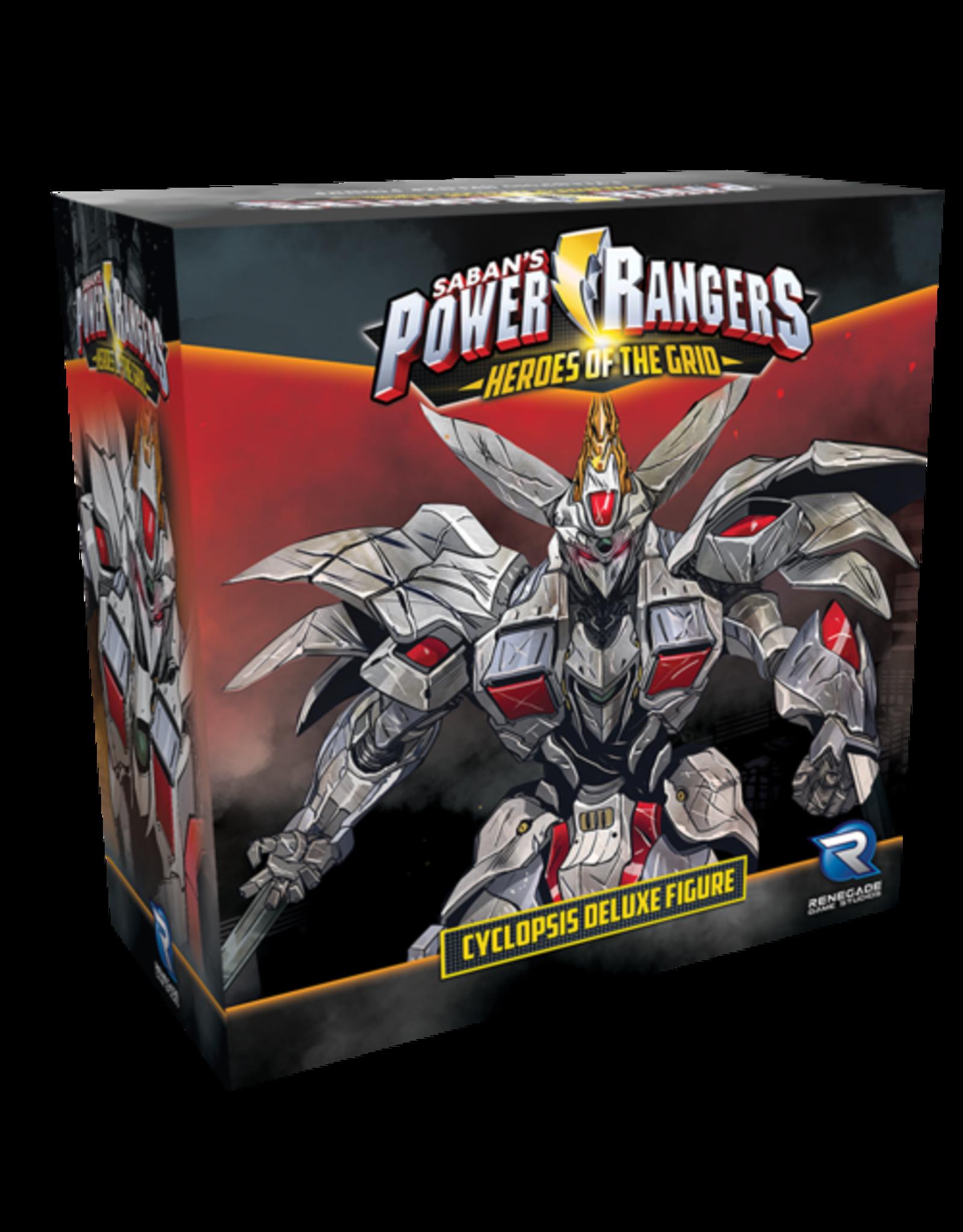Renegade Game Studios Power Rangers: Cyclopsis Deluxe Figure