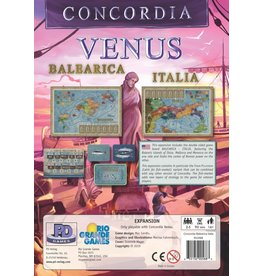 Rio Grande Games Concordia Venus: Map Expansion
